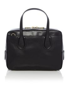 Greenwich black satchel