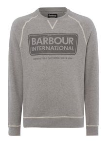 Barbour International Logo Sweat