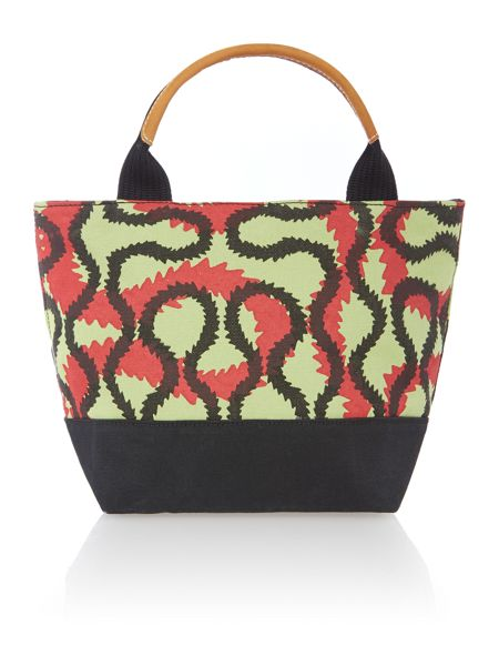 Vivienne Westwood Africa multi coloured small print shopper