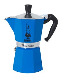 Bialetti Moka Colour Express Blue (6 Cup)