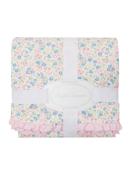 Polo Ralph Lauren Baby Girls Floral Blanket