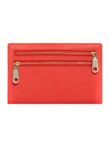 Saffiano orange organizer