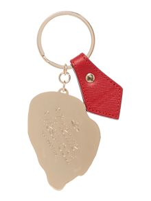 Red lips keyring