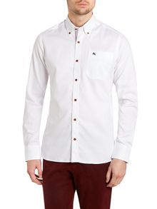 Tailored Fit Long Sleeve Button Down Shirt