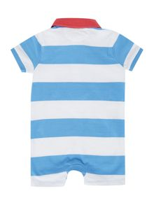 Baby Boys Rugby Polo Bodysuit