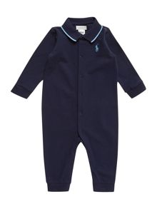 Polo Ralph Lauren Boys All In One Long Sleeved Polo