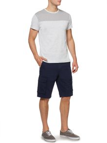 Army & Navy Wesley Contrast Panel T-Shirt