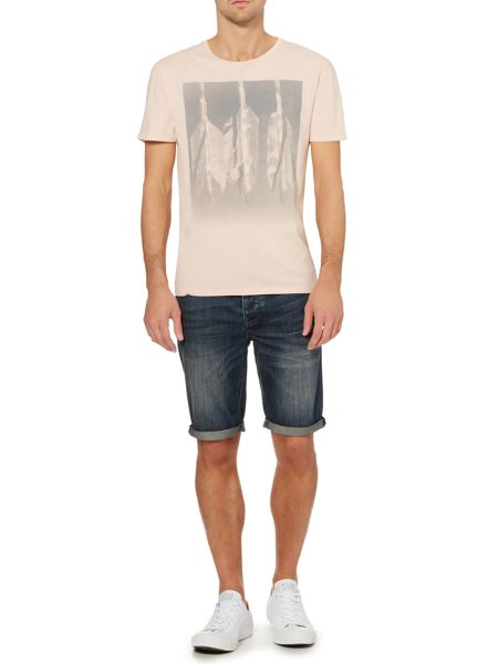 Label Lab Arrows Fade Out Graphic Print T-Shirt