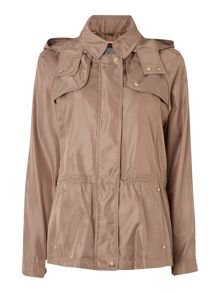 Vince Camuto Hooded jacket with quilted lapels