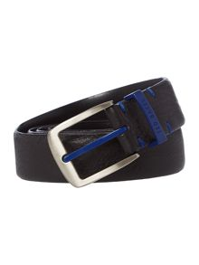 Highlight buckle and keeper belt