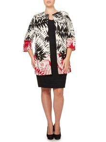 Cucciolo tropical print coat