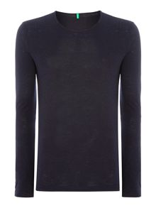 Long Sleeve Plain Top