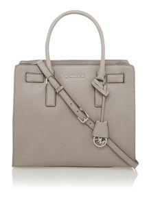 Dillon grey large tote bag