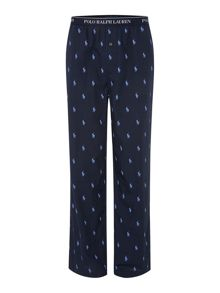 All over logo pant