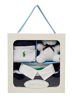 Boys gift box with rugby all in one