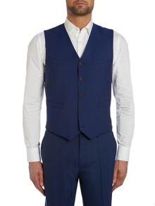 Paul Smith London Wool Mohair Slim Fit Waistcoat