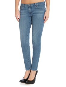 AG Jeans The legging ankle skinny jean in spectral