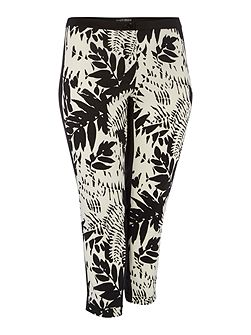 Ribelle, floral print trousers