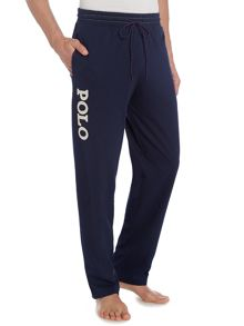 Jersey polo pant