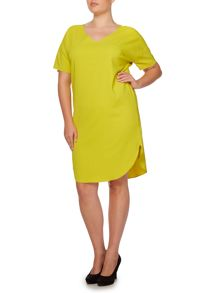 Persona Dopo V-neck dress