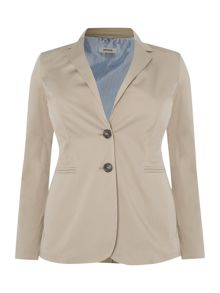 Casual two button blazer