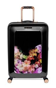 Casade floral black medium rollercase