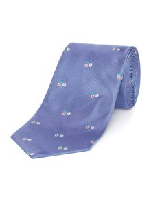 Spaced Out Floral Regular Tie