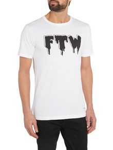 A Question Of Ftw Print T Shirt