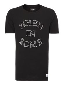 When In Rome Printed T Shirt