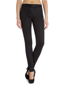 Debbie 0838W coated jeggings