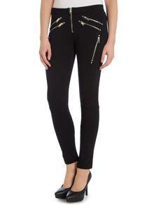 P-yasmin-b zip detail leggings