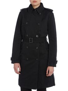 Diesel G-jesse cotton trench coat