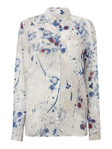 Diesel C-luto-c all over printed shirt