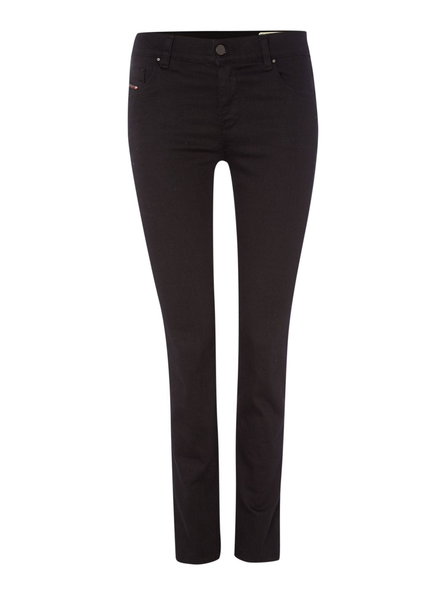 Sandy 0800r Reg Straight Jeans Leg 30, Black