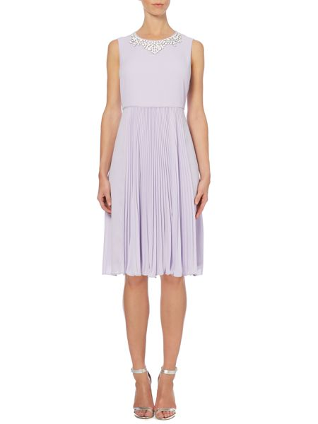Pied a Terre Anais Pleated Dress