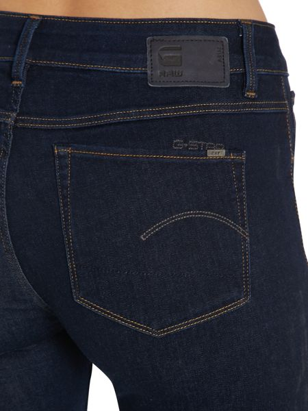 G-Star 3301 contour super skinny jean in rinsed