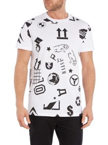 Systvm Graphic Logos T Shirt