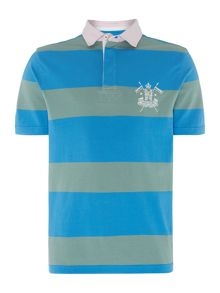 Stafford Stripe Short Sleeve Rugby