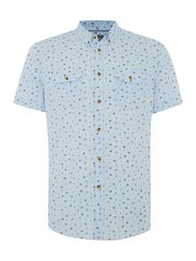 Ridley Summer Floral Print Two Pocket Shirt