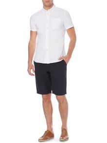 Linea Orpington Textured Cotton Shorts