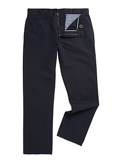 Crouch Textured Casual Trousers