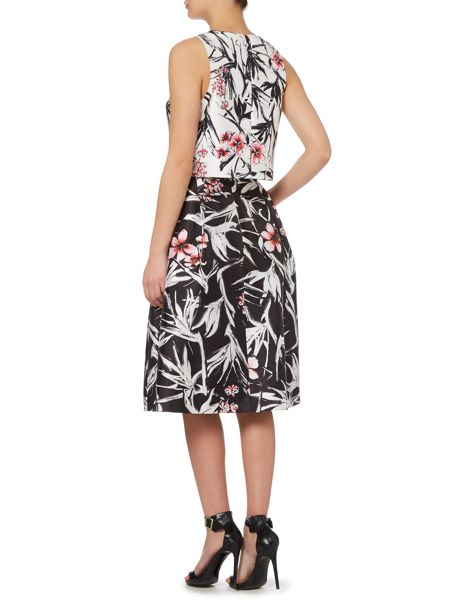 Pied a Terre printed shell top