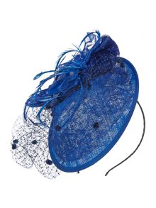Eliza Lace & Flowers Saucer with Veil