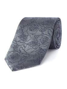 Simon Carter Rose Garden Tie