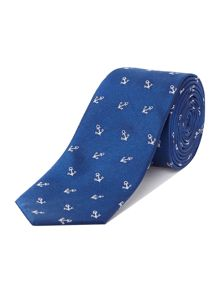 Anchor Patterned Tie