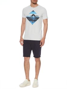 Huntington Graphic Print Short Sleeve  T-Shirt