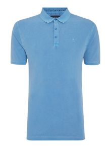 Chase Pique Short Sleeved Polo Shirt