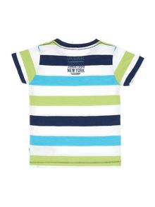 Boys Striped Short Sleeved T-Shirt