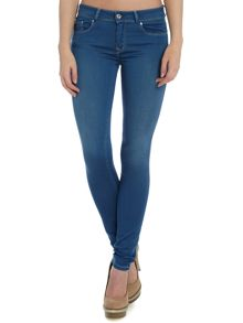 Colette comfort skinny jean in mid wash
