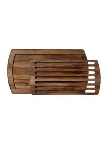 Acacia bread board